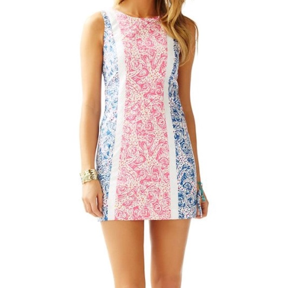 2a89769660c4cf Lilly Pulitzer Dresses & Skirts - Lily Pulitzer Starfish Print Shift Dress